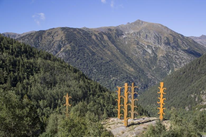 'Estripagecs', de Pere Moles, al Parc Natural de Sorteny (Ordino)